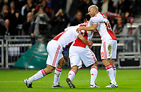 FOOTBALL - CHAMPIONS LEAGUE 2010/2011 - GROUP STAGE - GROUP G - AJAX AMSTERDAM v AJ AUXERRE - 19/10/2010 - PHOTO GUY JEFFROY / DPPI - JOY AJAX