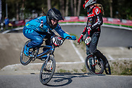 #700 (TORRES Marion) FRA during practice at Round 5 of the 2018 UCI BMX Superscross World Cup in Zolder, Belgium