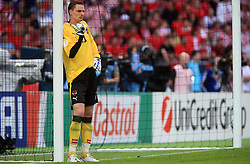Goalkeeper of Austria Jurgen Macho during the UEFA EURO 2008 Group B soccer match between Austria and Croatia at Ernst-Happel Stadium, on June 8,2008, in Vienna, Austria.  (Photo by Vid Ponikvar / Sportal Images)