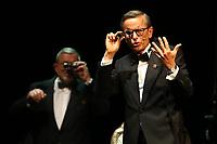Mannheim. 11.02.18  <br /> Nationaltheater. Gro&szlig;e b&uuml;rgerschaftliche Auszeichnung &quot;Das Bloomaul&quot; an Rolf G&ouml;tz.<br /> Das Auswahlkomitee, darunter Bert Siegelmann, Achim Weizel und Marcus Haass, entschied sich f&uuml;r Rolf G&ouml;tz. Helen Heberer h&auml;lt die Laudatio.<br /> Bild-ID 062   Markus Pro&szlig;witz 11FEB18 / masterpress