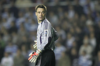 Photo: Lee Earle.<br /> Reading v Chelsea. The Barclays Premiership. 14/10/2006. Chelsea's John Terry takes over in goal.