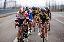 Lotte Kopecky - Dwars door Vlaanderen 2016, a 103km road race from Tielt to Waregem, on March 23rd, 2016 in Flanders, Netherlands.