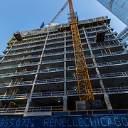 Chicago under construction 2018 - The Renelle residential building