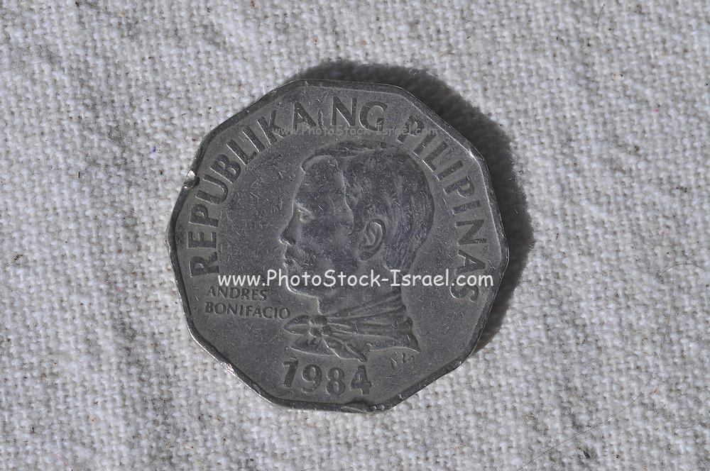 Filipino two piso coin