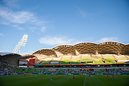 MELBOURNE, VIC - JANUARY 11: A general view at the Hyundai A-League Round 13 soccer match between Melbourne City FC and Brisbane Roar FC at AAMI Park in VIC, Australia 11th January 2019. (Photo by Speed Media/Icon Sportswire)