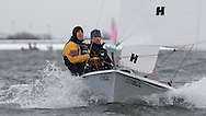 ENGLAND, London, Queen Mary Sailing Club, January 9th 2010, Bloody Mary Pursuit Race, RS 200 1293, Andrew Boyce and Charlie Beck, (Papercourt SC)