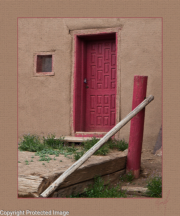 Taos Doorway, New Mexico