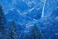 Scenic image of Yosemite Falls. Yosemite National Park.