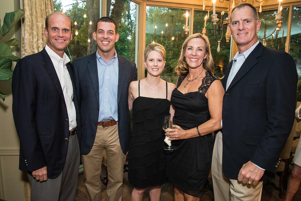 Rick Reisner, Dan and Amber Shockley, Shannon and Steve Cook