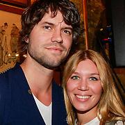 NLD/Volendam/20130423 - Presentatie L' Homo 2013, Simon Keizer en partner Annemarie Hoek