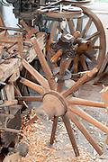 Südhessisches Handwerksmuseum im Alten Bahnhof, Wagner Werkstadt, Wagnerei, Roßdorf, Hessen, Deutschland | South Hessen crafts museum in the old station, Wagner Werkstadt, wheelwright, Rossdorf, Hesse, Germany