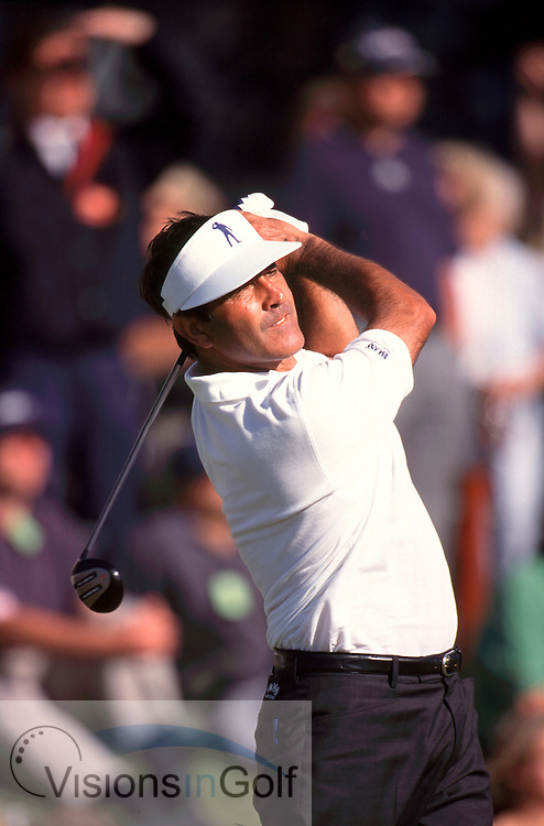 000723/ ST. ANDREWS, SCOTLAND/ PHOTO MARK NEWCOMBE/ THE OPEN CHAMPIONSHIP 2000<br /><br />Seve Ballesteros