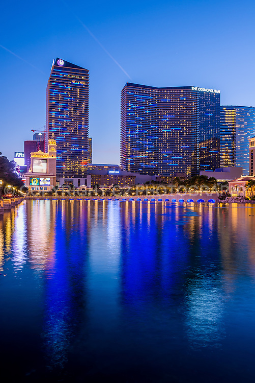 The Cosmopolitan hotel in Las Vegas, Nevada.