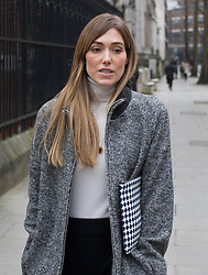 © Licensed to London News Pictures. 10/03/2016. London, UK. Jacquie Ainsley, wife of Guy Ritchie, is seen at The High Court as Madonna and Guy Ritchie fight a legal batle over their son Rocco. Photo credit: Peter Macdiarmid/LNP