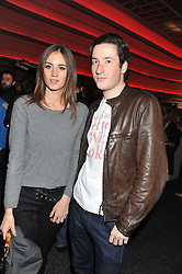 LILY RAGE and BLAISE PATRICK at the launch of famed American fitness club 'Equinox' 99 High Street Kensington, London on 23rd October 2012.