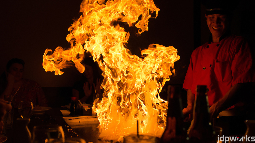 Japanese Hibachi Fire