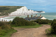 Seven Sisters, South Downs, East Sussex, England, UK