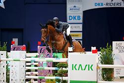 Klatte, Guido Jun. (GER) Asagan M<br /> München - Munich Indoors 2017<br /> © www.sportfotos-lafrentz.de/Stefan Lafrentz
