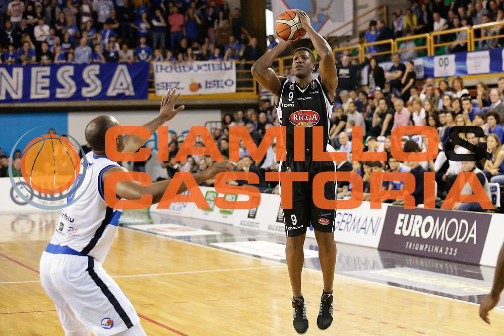Diawara Yakhouba<br /> Germani Basket Brescia Leonessa - Pasta Reggia Juve Caserta<br /> Lega Basket Serie A 2016/2017<br /> Montichiari, 02/04/2017<br /> Foto Ciamillo-Castoria / M. Brondi