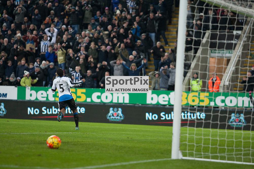 Newcastle v Manchester Utd 12 January 2016<br />Wijnaldum goal ruled offside<br />(c) Russell G Sneddon / SportPix.org.uk