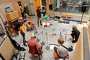Photos of Icelandic folk band Árstídir performing at Ras 2 studio in Reykjavik, Iceland. October 7, 2011. Copyright © 2011 Matthew Eisman. All Rights Reserved.
