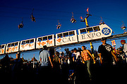 The midway at the California State Fair on September 3, 2007.