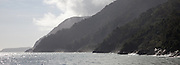 inlet to Milford Sound, Tasman Sea, Fiordland, New Zealand