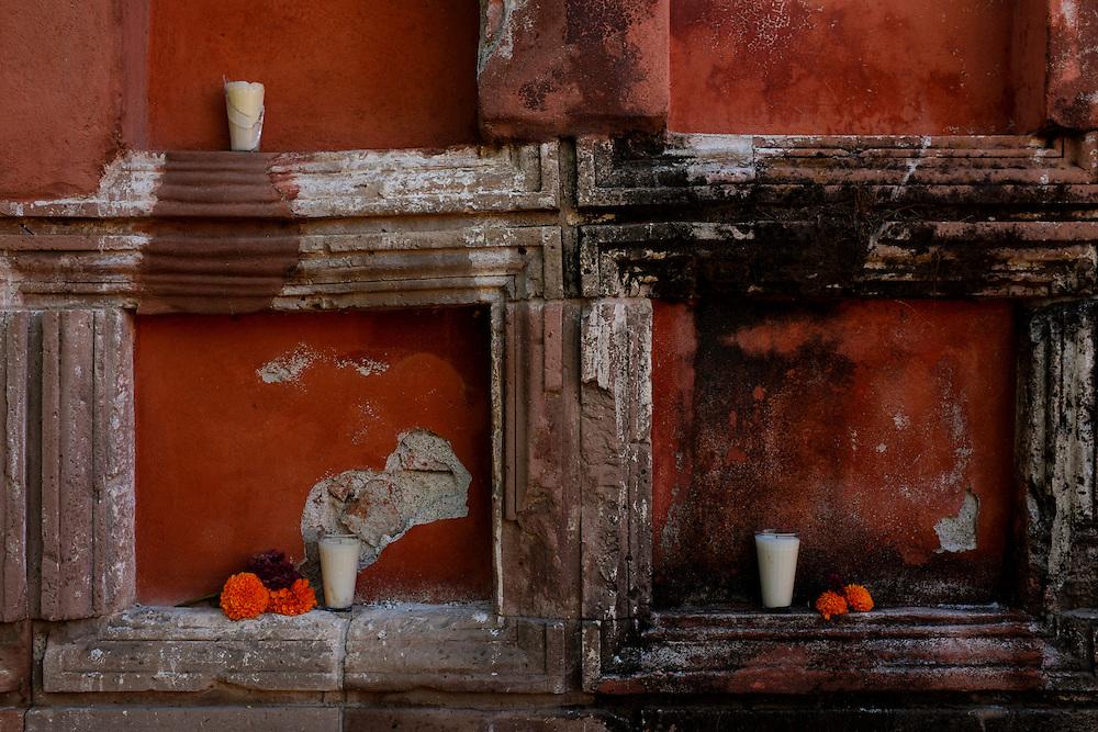 Cemetary. Dia de los Muertos, San Miguel de Allende, Mexico.