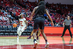 NORMAL, IL - February 27: Tete Maggett during a college women's basketball game between the ISU Redbirds and the Bears of Missouri State February 27 2020 at Redbird Arena in Normal, IL. (Photo by Alan Look)