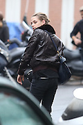 - PARIS - <br /> KRISTEN STEWART FILMING IN PARIS<br /> ©Exclusivepix Media