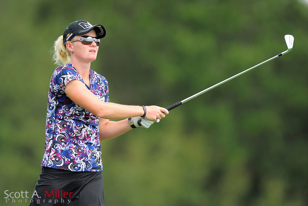 Nicole Smith during the final round of the Daytona Beach Invitational  at LPGA International on Sep 30, 2012 in Daytona Beach, Florida...©2012 Scott A. Miller
