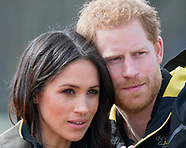 Meghan Markle & Harry At Invictus Trials