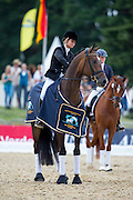 Eva Moller - Bordeaux<br /> FEI World Breeding Dressage Championships for Young Horses 2012<br /> © DigiShots