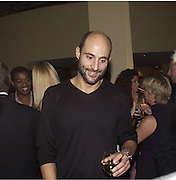 Mark Strong. Uncle Vanya, Donmar Warehouse and afterwards at 1 Aldwych. 30 September 2002. © Copyright Photograph by Dafydd Jones 66 Stockwell Park Rd. London SW9 0DA Tel 020 7733 0108 www.dafjones.com