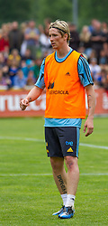 28.05.2012, Sportplatz Golm FC Schruns, Schruns, AUT, UEFA EURO 2012, Trainingslager, Spanien, im Bild Fernando Torres (ESP) Fernando Torres of Spain during of Spanish National Footballteam for preparation UEFA EURO 2012 at Sportplatz Golm FC Schruns, Schruns, Austria on 2012/05/28. EXPA Pictures © 2012, PhotoCredit: EXPA/ Peter Rinderer