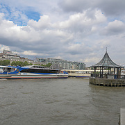 London Eye River Cruise on 18 July 2019, City of London, UK.