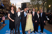"Anna Chancellor, Martin Freeman, Stephen Fry, Zooey Deschanel,  Sam Rockwell  and Bill Nighy. arrive at the World Premiere of ""Hitchhiker's Guide To The Galaxy"" at UCI Empire, Leicester Square on April 20, 2005 in London.. ONE TIME USE ONLY - DO NOT ARCHIVE  © Copyright Photograph by Dafydd Jones 66 Stockwell Park Rd. London SW9 0DA Tel 020 7733 0108 www.dafjones.com"