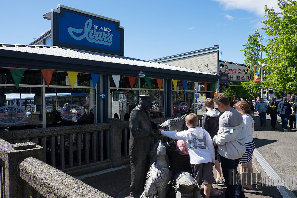 Ivar's is a seafood restaurant and popular spot on the Seattle waterfront.