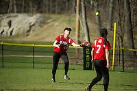 St Pauls School varsity Softball.  Karen Bobotas Photographer