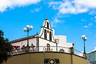 ESP, Spain, the Canary Islands, island of La Palma, Tazacorte, the church San Miguel.<br /> <br /> ESP, Spanien, Kanarische Inseln, Insel La Palma, Tazacorte, die Kirche San Miguel.