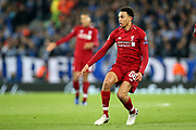 Liverpool defender Trent Alexander-Arnold (66) during the Champions League Quarter-Final Leg 1 of 2 match between Liverpool and FC Porto at Anfield, Liverpool, England on 9 April 2019.