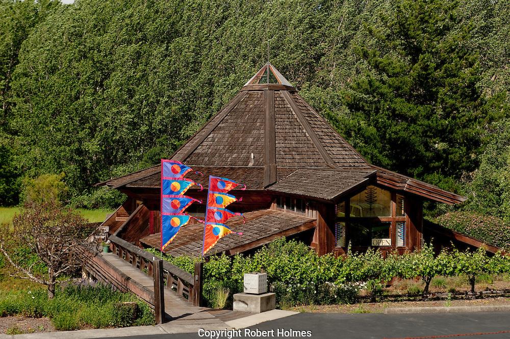 Greenwood Ridge Vineyards, Anderson Valley, Mendocino County, California
