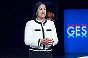 Manisha Singh, adviseur van Ivanka Trump  tijdens GES2019. <br /> <br /> Manisha Singh, adviseur van Ivanka Trump  during GES2019.