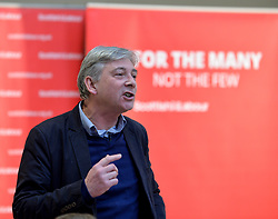 Pictured: Richard Leonard speaks at the lunch.<br /> <br /> Labour leader Jeremy Corbyn travelled to Scotland to attend a festive lunch for homeless charities and volunteers in Edinburgh on Sunday, along with Scottish Labour leader Richard Leonard.<br /> <br /> &copy; Dave Johnston / EEm