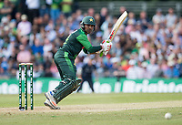 EDINBURGH, SCOTLAND - JUNE 12: Sarfraz Ahmed, the Pakistan Captain scores a run during the International T20 Friendly match between Scotland and Pakistan at the Grange Cricket Club on June 12, 2018 in Edinburgh, Scotland. (Photo by MB Media/Getty Images)