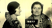 Prostitutes And Madams: Mugshots From When Montreal Was Vice Central<br /> <br /> Montreal, Canada, 1949. Le Devoir publishes a series of articles decrying lax policing and the spread of organized crime in the city. Written by campaigning lawyer Pacifique 'Pax' Plante (1907 – 1976) and journalist Gérard Filion, the polemics vow to expose and root out corrupt officials.<br /> <br /> With Jean Drapeau, Plante takes part in the Caron Inquiry, which leads to the arrest of several police officers. Caron JA's Commission of Inquiry into Public Morality began on September 11, 1950, and ended on April 2, 1953, after holding 335 meetings and hearing from 373 witnesses. Several police officers are sent to prison.<br /> <br /> During the sessions, hundreds of documents are filed as evidence, including a large amount of photos of places and people related to vice.  photos of brothels, gambling dens and mugshots of people who ran them, often in cahoots with the cops – prostitutes, madams, pimps, racketeers and gamblers.<br /> <br /> Photo shows: Liliane Brown, alias Ida Katz, tenancière, 1930 or 1940. Liliane Brown, aka Ida Katz, was one of the three principal tenants in Montreal during the Second World War. She kept several low-end houses on Clark Street, south of Ste-Catherine, near the Gayety cabaret, and on the streets of Bullion and Desmarais.<br /> ©Archives de la Ville de Montréal/Exclusivepix Media