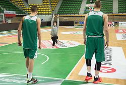 Jure Drakslar, assistant coach during practice session of basketball club Stelmet BC Zielona Gora (POL), on January 21, 2016 in CRS Hala Zielona Góra, Zielona Gora, Poland. Photo by Vid Ponikvar / Sportida