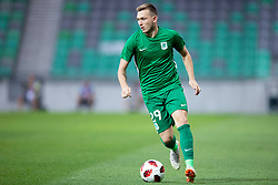 Matic Crnic of NK Olimpija Ljubljana during 1st Leg football match between NK Olimpija Ljubljana and HJK Helsinki in 3rd Qualifying Round of UEFA Europa League 2018/19, on August 9, 2018 in SRC Stozice, Ljubljana, Slovenia. Photo by Urban Urbanc / Sportida