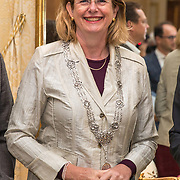 NLD/Den Haag/20190919 - Prinses Margarita exposeert op Masterly The Hague, Burgemeester Pauline Krikke