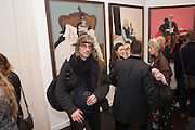 Hominidae- Henry Hudson private view. TJ Boulting. Riding House St. London. 20 November 2012.